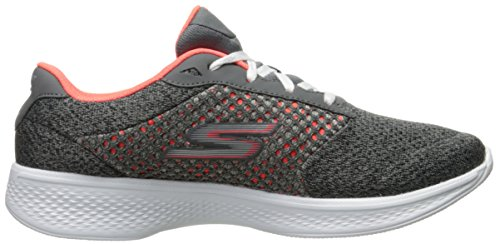 Skechers Damen Gowalk 4-Exceed Sneakers Grau (Cccl)