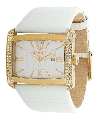 Joop! Damen-Armbanduhr Romano Analog Quarz Leder JP101182F07