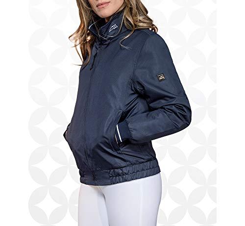 Equiline Audrey Bomber Jacke Damen Größe: XL Farbe: Blue