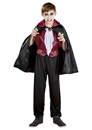 Unbekannt Halloween Fasching Karneval Kostüm Vampir - Gr. S 116 (4-6 Jahre)