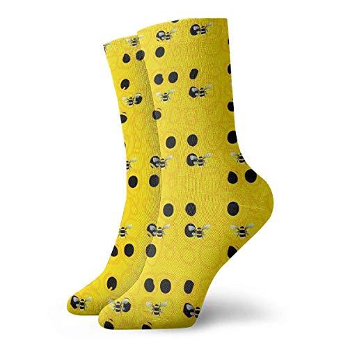 Preisvergleich Produktbild AORSTAR Socken Socks Breathable Bumble Bees Crew Sock Exotic Modern Women & Men Printed Sport Athletic Socks 11.8in