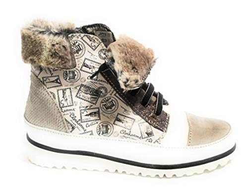 Para Eu Zapatillas Mujer Size35 Clocharme Biancobeige XZPTOiuk