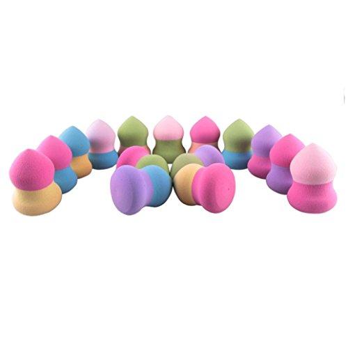 Susenstone [ONLY 1PC] [Random Color] Teint Mélange Poudre Lisse Impeccable Éponges-Blender-Puff