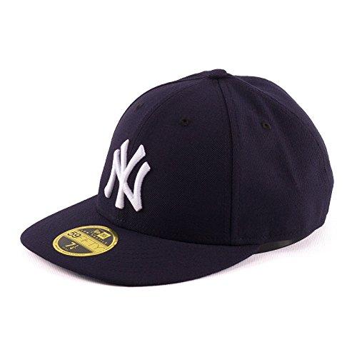 New Era Herren Caps / Fitted Cap Authentic Performance Low Crown NY Yankees blau 7 1/8 - 56,8cm