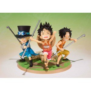 one-piece-figur-ruffy-ace-sabo-statue-a-promise-of-brothers-figuartszero-reihe-10cm