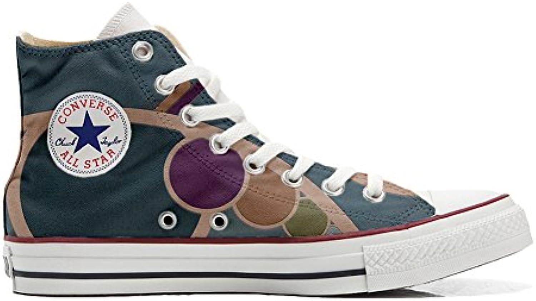 Converse All Star Customized - Zapatos Personalizados (Producto Artesano) Retro  -