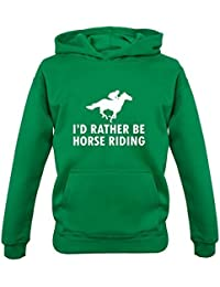 1-13 Years Dressdown Dont Worry Its A Horse Riding Thing 9 Colours Kids Hoodie