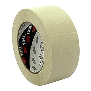 3M 101E Kreppklebeband, 18 mm x 50 m, Standard, Beige (12-er Pack)