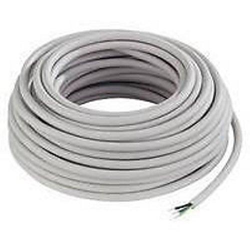 Mantelleitung NYM-J 3x1,5mm² Kabel | 25m Ring, 3 adriges Installationskabel nach DIN VDE 0250-204 - im Karton verpackt