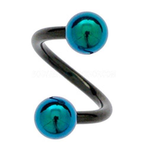 blackline-cuerpo-espirales-y-titanio-balls-verde-10mm