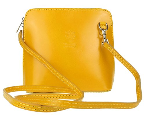 Craze London, Borsa a tracolla donna S Yellow