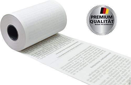 VEIT GmbH EC Thermorollen mit SEPA-Lastschrifttext 57mm x 14m x 12mm [ØRolle 35mm] Drucker schonend 55g/m² (50)