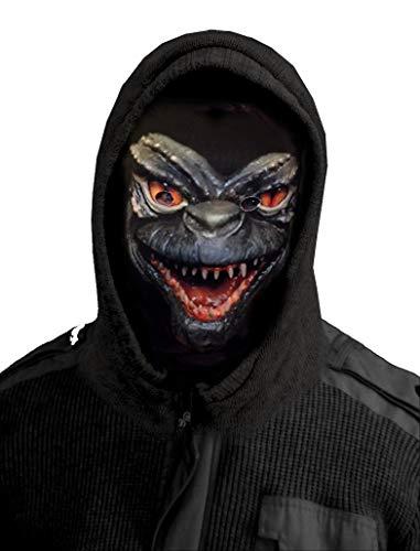 GNS Halloween Monster Design Novelty Fun Stoff Face Maske Snood Neckwarmer hergestellt in Yorkshire ()
