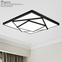 BBSLT Dimmable personalità creativa suggestiva Piazza LED soffitto lampada salotto