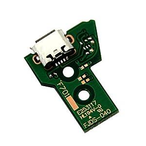booEy PS4 Slim & Pro Dualshock Controller Ladebuchse Platine Board 12 PIN JDS-040