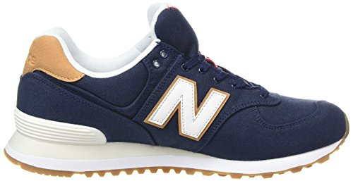 New Balance Ml574v2 Yatch Pack, Baskets Homme Bleu (Navy)