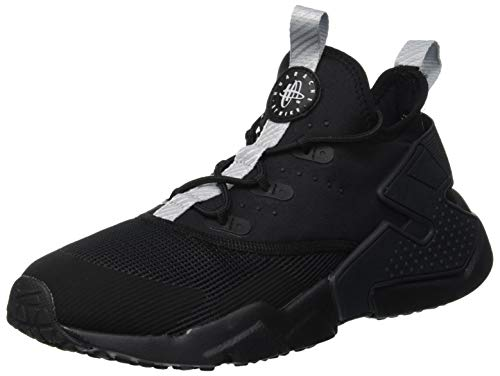 Nike Jungen Huarache Drift (GS) Laufschuhe, Schwarz (Anthracite/Wolf Grey Dark Grey 001), 38.5 EU (Jungs Huarache, Schuhe)
