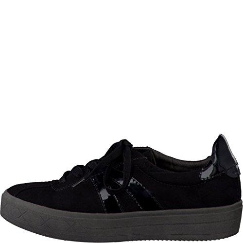 Tamaris  1-1-23626-37 001, Chaussures de ville à lacets pour femme 37 Schwarz