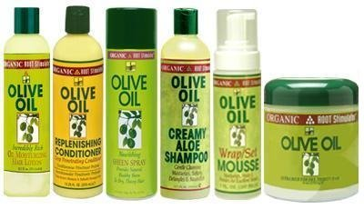 ORS Olive Oil Jumbo Set (Shampoo, Conditioner, Oil Moisturizer, Sheen Spray, Mousse, and Hairdress) Plus 2 Free of Apple EYE Pencil Color: Silver Violet by Organic Root Stimulator