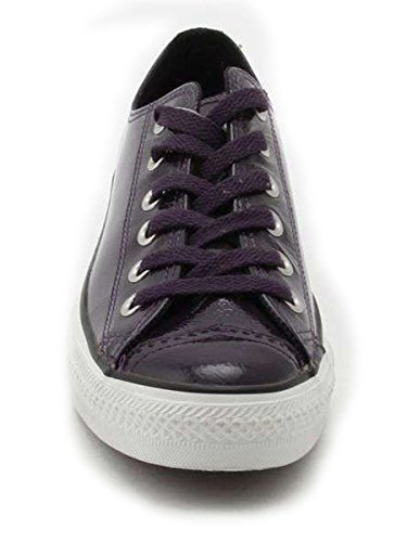 Aubergine Converse Star All Leather Ox xqTY4HUw