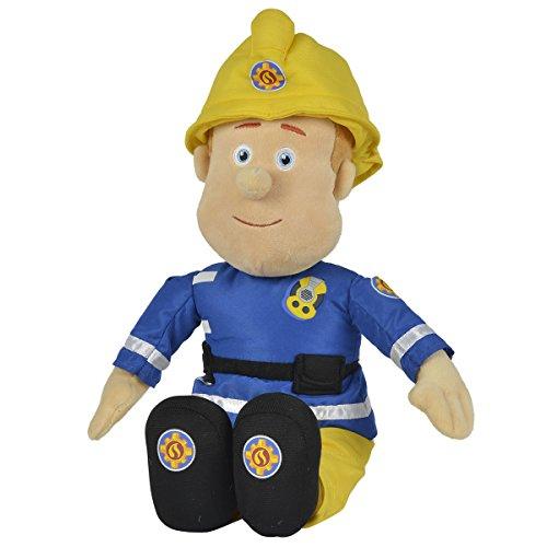 feuerwehrmann sam puppe Unbekannt Feuerwehrmann Sam Plüschfigur 45 cm - Plüsch Figur Spielzeug Puppe Stofftier Plüschtier Kuscheltier