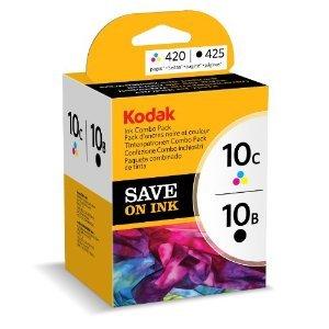 Kodak 2Set Druckerpatronen für Drucker ESP Office 6150Farbe/Schwarz 420/425Seiten (Kodak 10b Drucker Tinte)