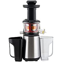 Panasonic Mj L500 Slow Juicer Sistema Di Estrazione Senza Lame : Amazon.it: estrattore