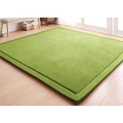 Japaner Boden Futon Matratzenauflage,premium Tatami Schlafen Unterbetten,weich Koralle Velvet Fußmatten,kinder Crawlen Mat Yoga Mat-c 200x400cm(79x157inch) -