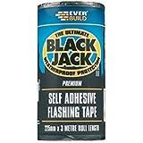 Everbuild EVBFLAS300 300 mm x 10 m Black Jack Flash Trade Fixing Glue by Everbuild