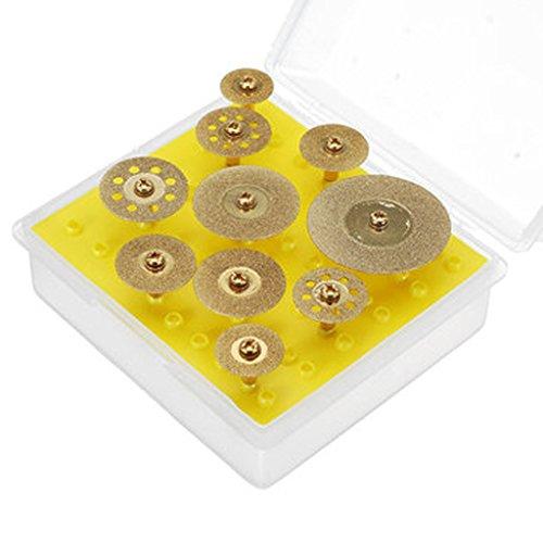 Diamant Trennscheiben Titan Cut Off Wheel Set für Dremel Werkzeug 100 -