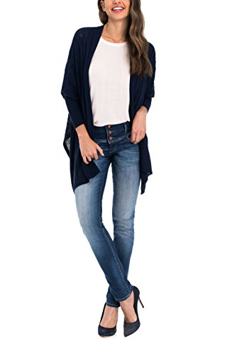 SALSA DONNA JEANS SLIM PUSH UP MYSTERY 119088 Denim scuro