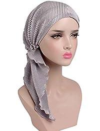 poetryer Bandanas Sombrero Unisex de la Bufanda de la Cabeza Bandana algodón  Impreso Turbante Headwear para el cáncer e5cda2df403c
