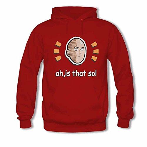 Womens Pullover Hoody Saitama One Punch Man Cotton Sweatshirt XXL