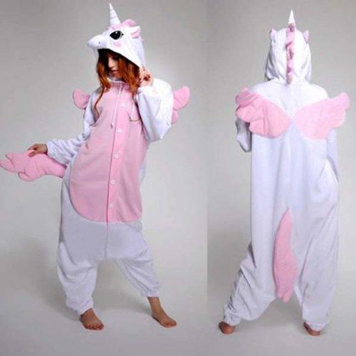 Keral Cosplay Kostüme Tierkostüme Erwachsene Pyjamas Kostüm Schlafanzug Nachtwäsche Kostüm M Käse Katze Unicorn