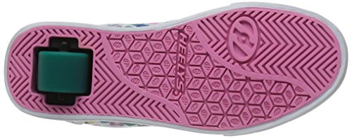 Heelys Launch, Sneakers basses fille Multicolore (White/teal/multi Geo)