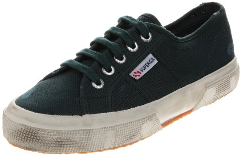 Superga 2750 Cotu Stone Wash, Chaussons Sneaker Adulte Mixte GREEN PINE