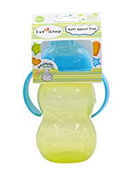 1st Step ST-1159GR Soft Spout Cup with Handle (Green)