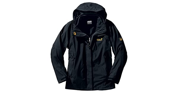 11916 600 Lakefield Jack Wolfskin Women's Jacket Black L