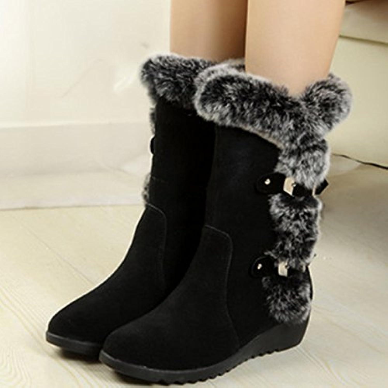 Botas de invierno Botas cómodas de invierno, negro, 35 EU