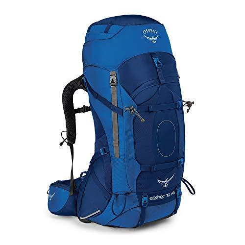 Osprey Aether AG Trekkingrucksack für Männer - Neptune Blue (LG)