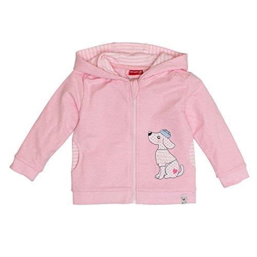 SALT AND PEPPER Baby-Mädchen Jacke B Jacket Summer Kap. Uni, Rosa (Rose Melange 810), 74 (Kapuzen-jacke Baby-rosa)