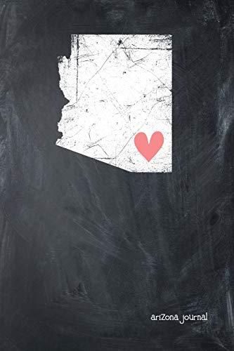 Arizona Journal: State of Arizona Gypsy Arrow Home Blank Diary 120 Paged College Lined 6x9 Travel Journal