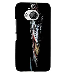 Citydreamz Horror\Face\Blood\Eyes Hard Polycarbonate Designer Back Case Cover For HTC Desire M9 Plus
