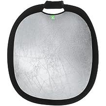 Creative Light 100942 - 60 cm cm Deluxe Klappbarer Reflektor (Silber/Weiß)