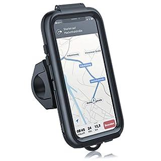 CSL - Fahrradhalterung Kompatibel mit iPhone X und XS - Fahrrad Case Schutzhã¼Lle Spritzwasserdicht - Handy Smartphone Halterung - Touchscreen Unterstã¼Tzung - OPTIMAL geeignet fr Bike Navigation