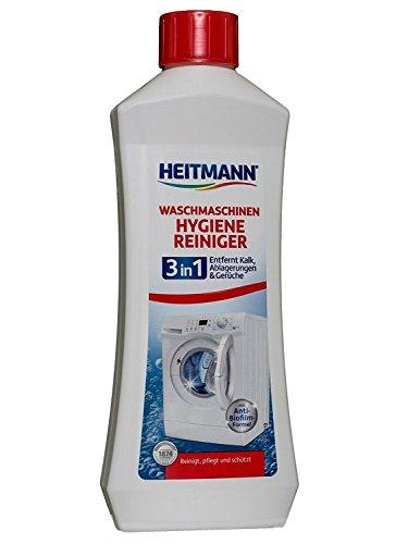 Heitmann Waschmaschinen Pflege-Reiniger, 250ml, 3er Pack (3x 250 ml)