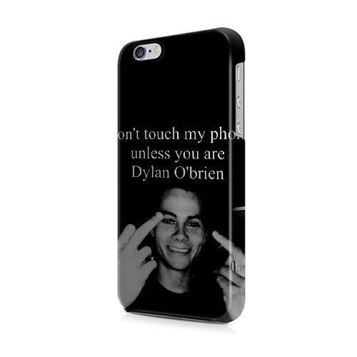 COUTUM iPhone 5/5s/SE Coque [GJJFHAGJ74780][COMME DES GARCONS THÈME] Plastique dur Snap-On 3D Coque pour iPhone 5/5s/SE DYLAN O'BRIEN'S - 007