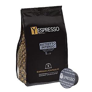 160 capsule compatibili Nescafè Dolce gusto RISTRETTO - 10 confezione da 16 capsule 10 spesavip