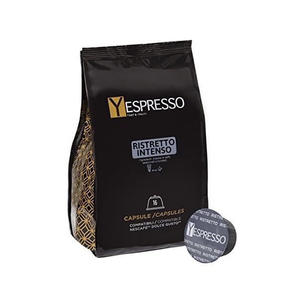 160 capsule compatibili Nescafè Dolce gusto RISTRETTO - 10 confezione da 16 capsule 1 spesavip