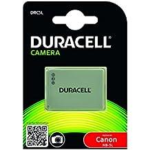 Duracell DRC5L - Batería para cámara digital 3.7 V, 820 mAh (reemplaza batería original de Canon NB-5L)